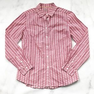 Boden The Classic Shirt in Clock Print